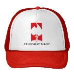 Flame Woman Customizable Hat