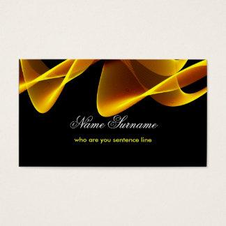 flamea la tarjeta de visita