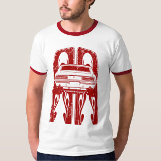 Flamed 1969 SS Stripe Bowtie T-Shirt