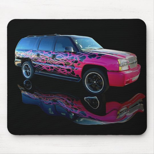 Flamed Blazer Mouse Pad