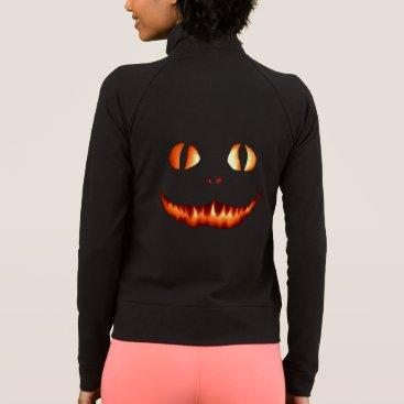 Halloween Themed Flamed Cat Women's Practice Jacket