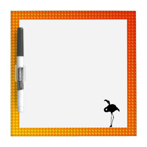 Flamenco amarillo-naranja pizarra
