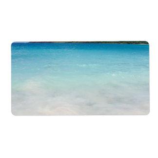 Flamenco Beach Culebra Label