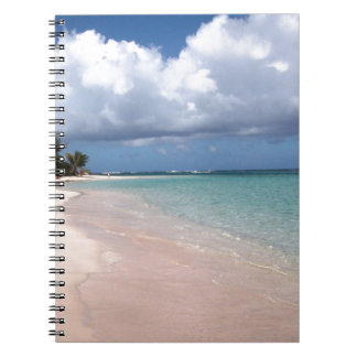 Flamenco Beach Culebra Spiral Notebook