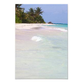 Flamenco Beach Culebra Puerto Rico Card