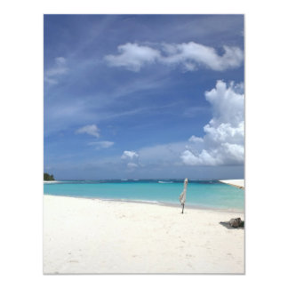 Flamenco Beach Culebra Puerto Rico Custom Announcement