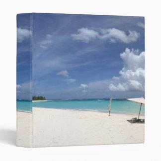 Flamenco Beach Culebra Puerto Rico Vinyl Binder