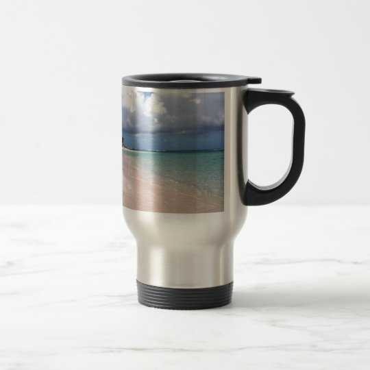 Flamenco Beach Culebra Travel Mug