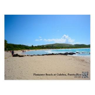 Flamenco Beach Muellesito - Snake Island Postcard
