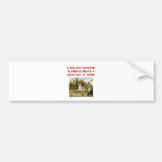 flamenco bumper stickers