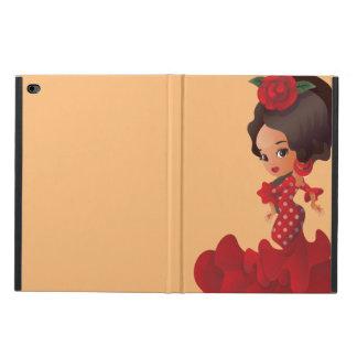 Flamenco cartoon chibi kawaii girl powis iPad air 2 case