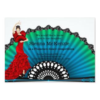 Flamenco dance card
