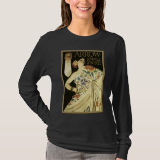 Flamenco Dance Girl Advertising T-Shirt