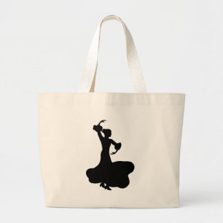 Flamenco Dancer Jumbo Tote Bag