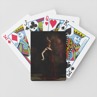 Flamenco Dancer Bicycle Playing Cards
