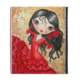 """Flamenco Dancer"" iPad Case"