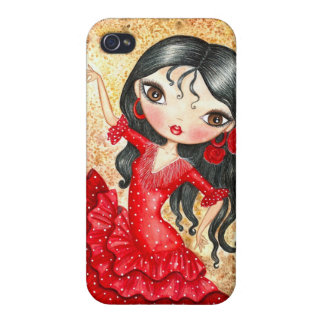 """Flamenco Dancer"" iPhone 4/4S Covers"