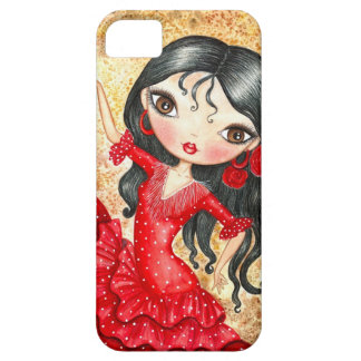 """Flamenco Dancer"" iPhone SE/5/5s Case"