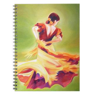 Flamenco Dancer Notebook