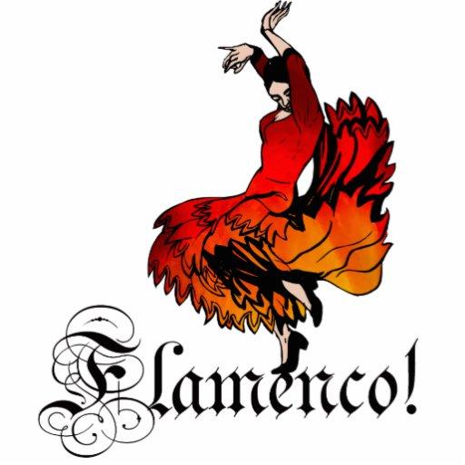Flamenco Dancer Photo Cutouts