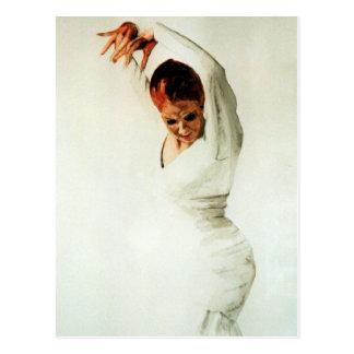Flamenco Dancer Postcard