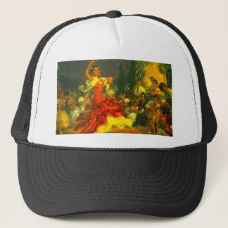 Flamenco Dancer Trucker Hat