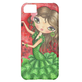 """Flamenco Dancer with Castanets"" Case For iPhone 5C"
