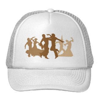 Flamenco Dancers Illustration Trucker Hat
