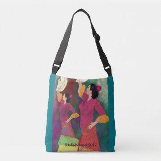 Flamenco Dancers - Siempre Flamenco Crossbody Bag