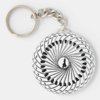 Flamenco dancing Spanish dancers gifts Basic Round Button Keychain