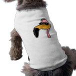 Flamenco de la defensa camisetas de perro