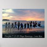 Flamenco de los discípulos 7-25-09 Playa, Costa Ri Impresiones