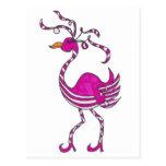 Flamenco de lujo tarjeta postal