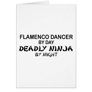 Flamenco Deadly Ninja by Night Cards