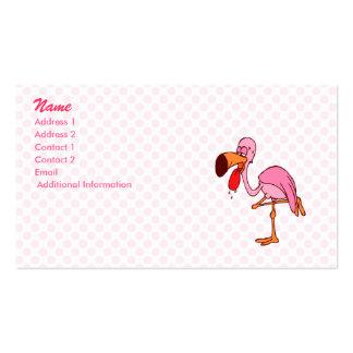 Flamenco del capirotazo tarjetas de visita
