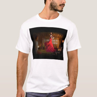 Flamenco in a Tea House T-Shirt