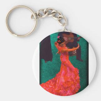Flamenco Keychain