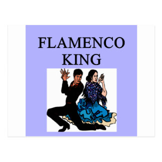 flamenco king postcard