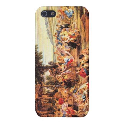 Flamenco Kirmes de Paul Rubens iPhone 5 Carcasa