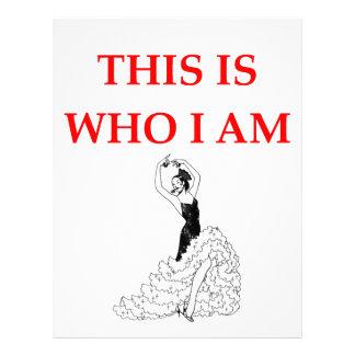 flamenco letterhead