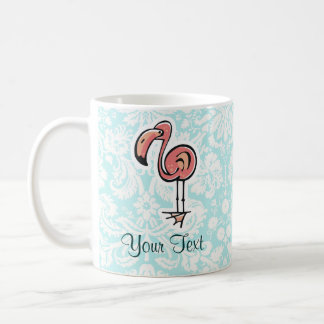 Flamenco lindo del dibujo animado tazas de café