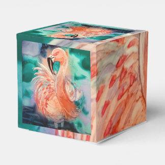 Flamenco mullido caja para regalos