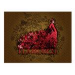 Flamenco - postal