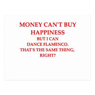 flamenco postcard