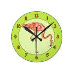 Flamenco Reloj De Pared