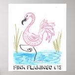 Flamenco rosado #13 impresiones