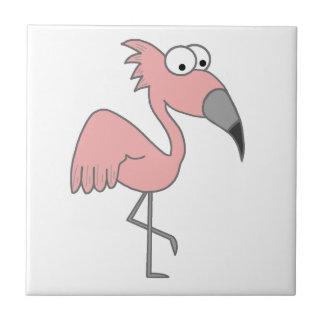 Flamenco rosado tejas  ceramicas