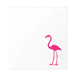 Flamenco rosado brillante bloc
