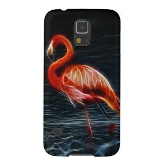 Flamenco rosado de Fraktalius Carcasa Para Galaxy S5