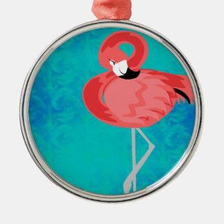 Flamenco rosado ornamentos para reyes magos
